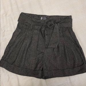 Urban outfitters high waisted pleated shorts
